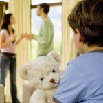 Если ребенок прописан у отца при разводе